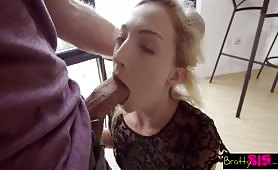 Bratty sister fucked and creamed