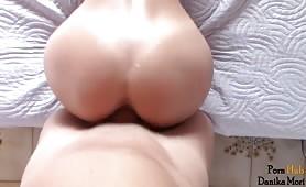 Brunette creampie
