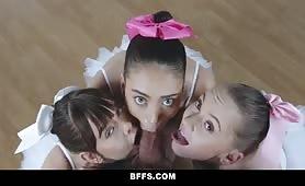 Ballerina orgy