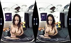 Big tits Anissa Kate virtual reality